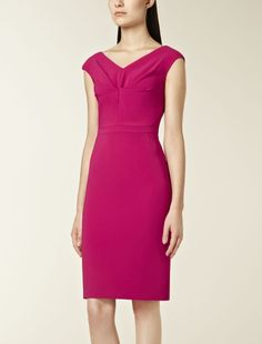 Pink dress from Max Mara. Thinking of getting it to wear at a wedding.