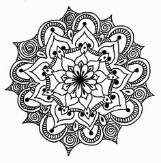 Love the design on this geometric mandala