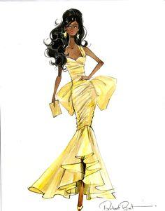 Moschino Barbie sketch by Robert Best