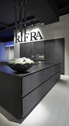 New kitchen inspiration modern black Ideas Elegant Kitchens, Black Kitchens, Luxury Kitchens, Home Kitchens, Kitchen Black, Luxury Kitchen Design, Interior Design Kitchen, Home Design, New Kitchen Inspiration