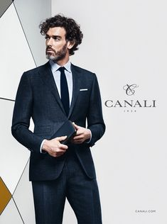 Richard Biedul for Canali Spring Summer 2016