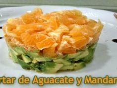 Tartar de aguacate y mandarina