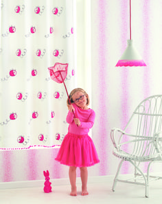 Create a living #space where #children can thrive, #learn, #play and #grow.  Fabric from Arc En Ciel