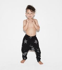 The perfect light star pants after a day in the waves!