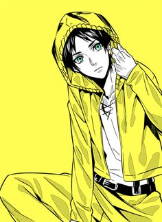 Eren Jaeger.... Why are you so attractive...