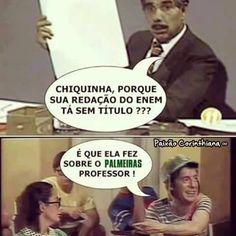 Rir do Palmeiras é fácil, difícil é parar de rir.