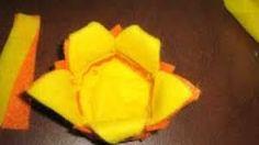 Risultati immagini per fiori in feltro senza cucire