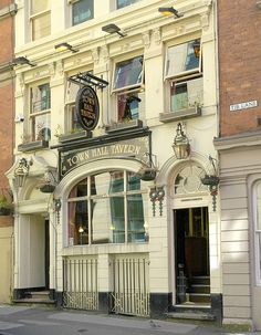 The Town Hall Tavern (pub),  Manchester  (by chas.eastwood) on Tib Lane, Old Manchester, England.