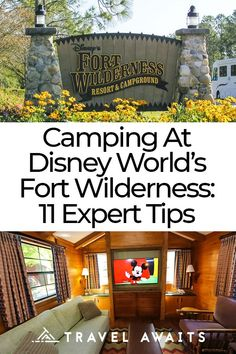 Preparing for the camping trip of a lifetime at magical Fort Wilderness inside Disney World is easier than ever with these 11 expert tips. Disney World Fort Wilderness, Fort Wilderness Resort, Disney's Wilderness Lodge, Wilderness Tattoo, Wilderness Explorer, Camping Snacks, Camping List, Family Camping, Camping Ideas