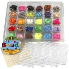 Armbånd af smeltede perler   Kreativ med ungerne Ice Cube Trays, Beading Patterns, Perler, Beads, Blog, Products, Creative, Dekoration, Bead