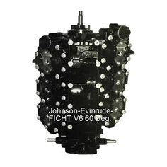 Johnson-Evinrude-BRP Outboard Powerhead, 60 deg, V-6, FICHT, 150-175 HP, 2000-2006 (price includes refundable core charge and free shipping) - Rainboat.com