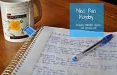 Darcie's Dishes: Meal Plan Monday: 4/6-4/12/15