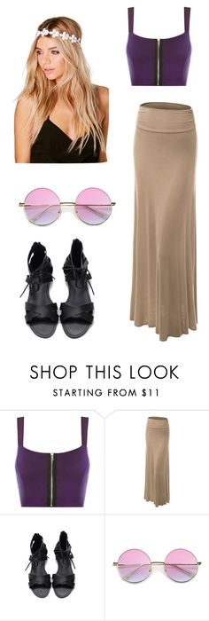 """Outfit player"" by biancagramaje on Polyvore featuring moda, WearAll, LE3NO y Boohoo"