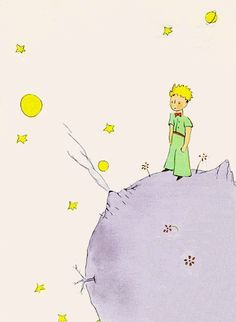 Le Petit Prince by Antoine de Saint Exupery Art Print Poster Little Prince Quotes, The Little Prince, Good Books, Books To Read, My Books, Amazing Books, Classic Books, Book Worms, Childrens Books