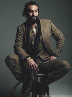 Male Fashion Trends: Jason Momoa para DT Lux Magazine por Norman Jean Roy