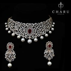 #Traditional #Indian #wedding #collection of #Diamond #jewelery from #charu #jewels
