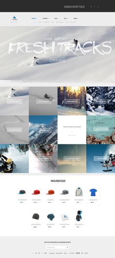 NWSledder by Todd Quackenbush, via Behance