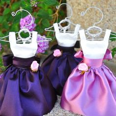 Flowergirl dress, so cute! Both Sophie and Emily love it