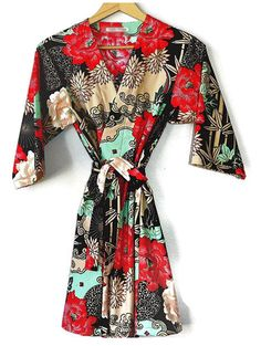 Kimono Robe, I have always wanted one.  They are always in style and so pretty.