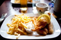 fish & chips, adams bar