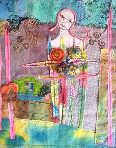 Alma Stoller: soul craft quilt on Stitched