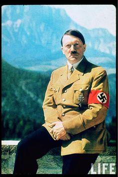 Adolf Hitler color photos World War II worldwartwo.filminspector.com