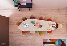 García Cumini Imbues Zanotta Tables With Sartorial Sensibility