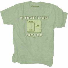 Bracket Limited Print Christian T-Shirt  $20.00