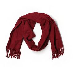 Pre-owned Jos. A. Bank Cashmere Scarf (1.525 RUB) ❤ liked on Polyvore featuring accessories, scarves, burgundy, cashmere shawl and cashmere scarves