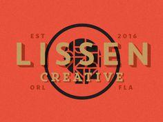 Lissen Creative v.2 by Adam Grason #Design Popular #Dribbble #shots