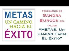 """Testimonio de Sandra Burgos, la creadora de http://www.30kcoaching.com, sobre mi taller online """"Metas, un Camino hacia el Éxito"""""""