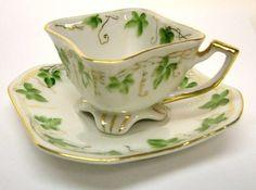 Merit Occupied Japan Tea Cup | MERIT VINTAGE OCCUPIED JAPAN MINIATURE SQUARE TEA CUP AND SAUCER ...