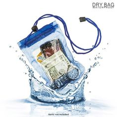 A must have for floating the river...  2-Pack: Waterproof Dry Bag for Phones, Cameras & More at 77% Savings off Retail!