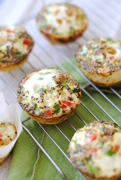 Egg  Zucchini muffins are super easy to make and perfect to reheat for breakfasts on-the-go!