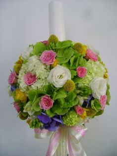 X Girl Christening, Topiary, Flower Arrangements, Wedding Flowers, Floral Wreath, Wreaths, Bouquets, Weddings, Engagement
