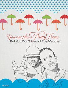 you can plan a pretty picnic but you can't predict the weather #PembertonFest// pembertonmusicfestival.com