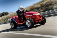 Honda's Mean Mower Is Officially The World's Fastest Lawnmower At 116 MPH: See The Crazy Video