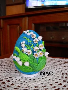 Fotoblog danslo.flog.pl. - PISANKA WYKONANA TECHNIKĄ QUILLING. ... Origami And Quilling, Quilling Craft, Quilling Flowers, Quilling Patterns, Quilling Designs, Quilling Ideas, Quilling Instructions, Paper Quilling Tutorial, Quilling Christmas