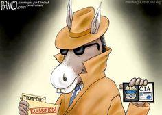 HAS THE CIA BEEN POLITICIZED? http://patriottribune.com/45687/cartoon-cia-politicized/
