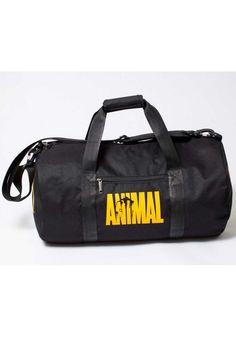 Спортивная мужская сумка черная Animal TM MAD - Stunner