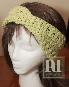 PDDesigns: FREE PATTERN: Moebius Headband Earwarmer