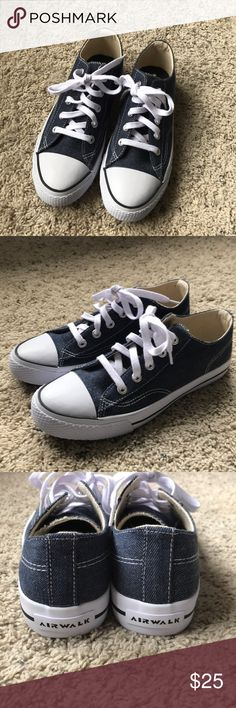 Women's Airwalk Shoes Brand new never worn women's airwalk shoes they are just like converse. Size 9 never worn breaks new. Paid $29.99 for them. Airwalk Shoes Sneakers