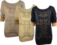 Studded baroque sweaters available at TrunkV.com