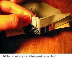 Crochê & Artesanatos: Cachepot de Papelão e tecido
