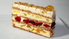 Moskva torta: Kremasto - voćna torta koju ćete pojesti u trenu ~ Recepti