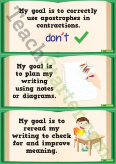 Goals - Writing (Middle Primary)