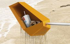 Save the Beach, Sieve the Beach | Yanko Design