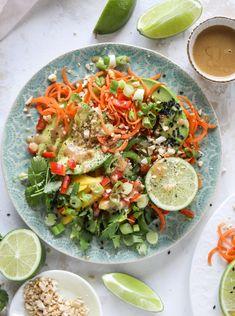 Thai Avocado Salad
