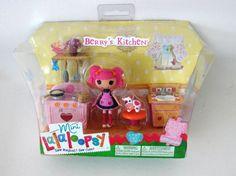 Berrys Kitchen Berry Jars N Jam Lalaloopsy Mini Doll Kitchen Set Stove Sink
