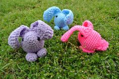 Baby Bunny Amigurumi Pattern by Simply Collectible Crochet